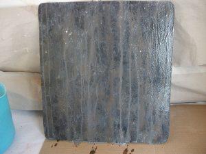 Planche fausse matière zinc