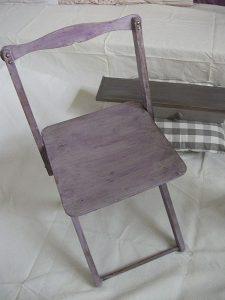 Chaise Picnic par Atelier Yael Céladon 05